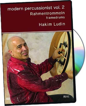 Hakim Ludin: Modern Percussionist Vol2 - Framedrums picture