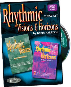 Gavin Harrison: Rhythmic Visions & Horizons Combo Pack picture
