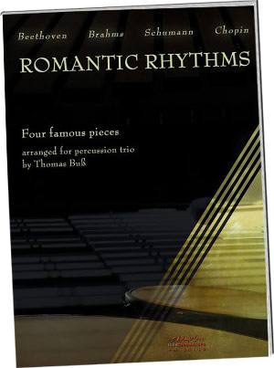 Romantic Rhythms - Four Famous Pieces Arranged For Percussion Trio picture