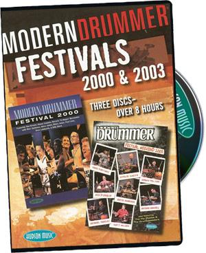 Modern Drummer 2000 & 2003 picture