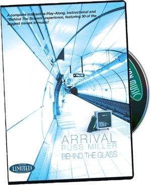 Russ Miller Arrival Behind Glass