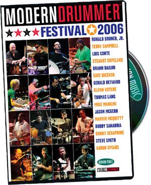 Modern Drummer Festival 2006 Combo picture