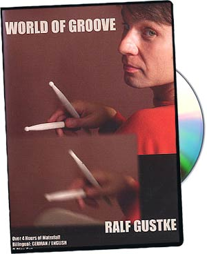 Ralf Gustke: World Of Groove Drums picture