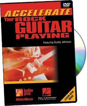 Scotty Johnson: Accelerate Rock Gtr Playing picture