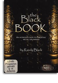 Randy Black: The Black Book: Creative Metal Drumming picture