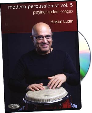 Hakim Ludin: Modern Percussion Vol. 5 - Playing Modern Congas picture