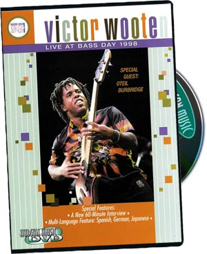 Victor Wooten: Victor Wooten Live at Bass Day 1998 picture