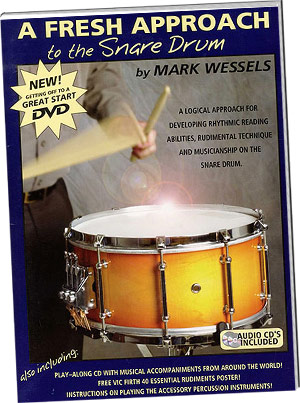 Mark Wessels: A Fresh Approach to the Snare Drum picture