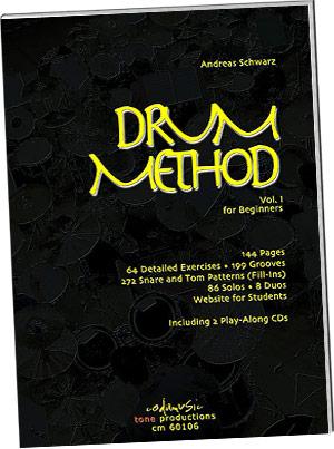 Andreas Schwarz: Drum Method Vol 1 Beg Bk/1 picture