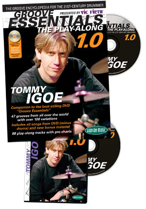 Tommy Igoe: Groove Essentials 1.0 DVD and Book picture
