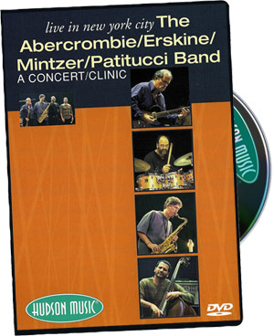 Peter Erskine: Abercrombie, Erskine, Mintzer, Patitucci Live picture