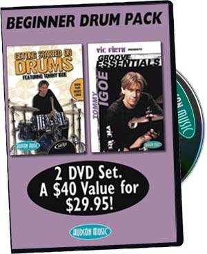 Tommy Igoe: Getting Started on Drums & Groove Essentials 1.0 DVD picture