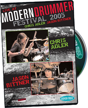 Modern Drummer: Chris  Adler and Jason Bittner Live picture
