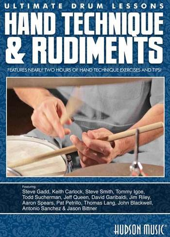 Ultimate Drum Lessons: Hand Technique and Rudiments DVD picture