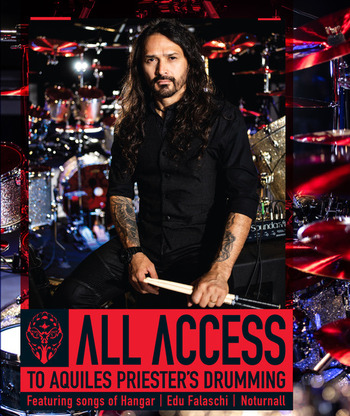 All Access to Aquiles Priester's Drumming DVD picture