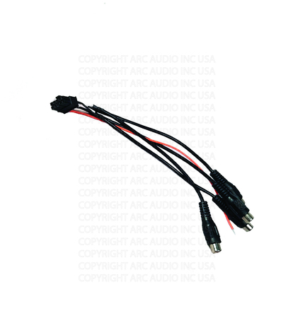 MOTO6004 RCA INPUT HARNESS picture