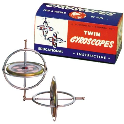 Original Tedco Gyroscope Twin Pack Tedco Toys