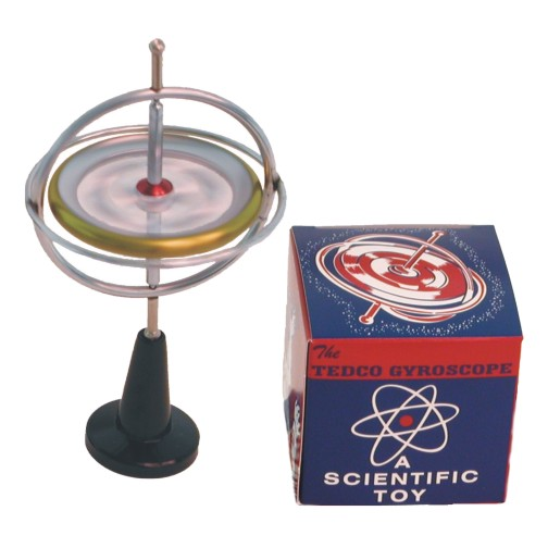 Original Tedco Gyroscope Nostalgic Pak Tedco Toys