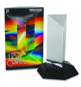Light Crystal Prism 4.5""