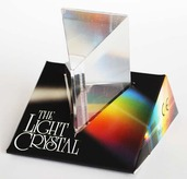 Light Crystal Prism 2.5&quot;