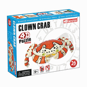 Clown Crab 4D Puzzle