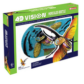 4D Vision Hercules Beetle Anatomy Model