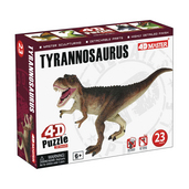 4D Tyrannosaurus 4D Dinosaur Puzzle