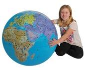 XXL Inflatable Globe