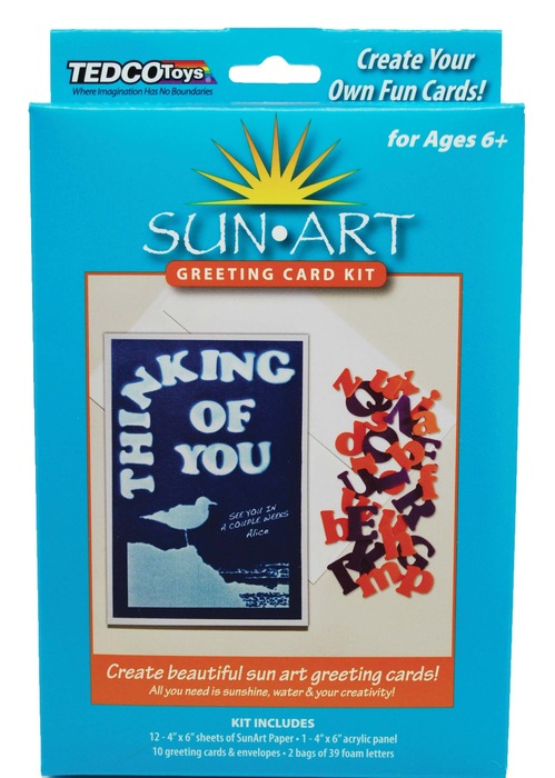 Sunart greeting card kit tedco toys additional images m4hsunfo