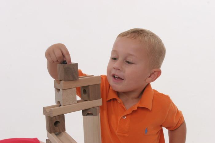 Blocks Amp Marbles Super Set Tedco Toys