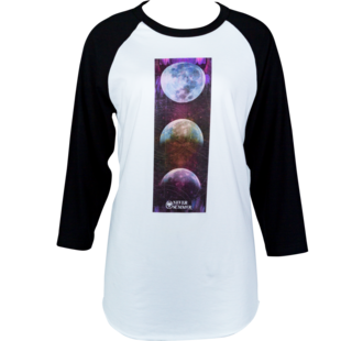 Unisex Moon Phase 3/4 Sleeve picture