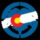 """10"""" Colorado Eagle Die Cut"""