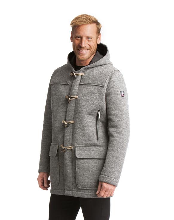 Oslo Knitshell Masculine Duffle Coat