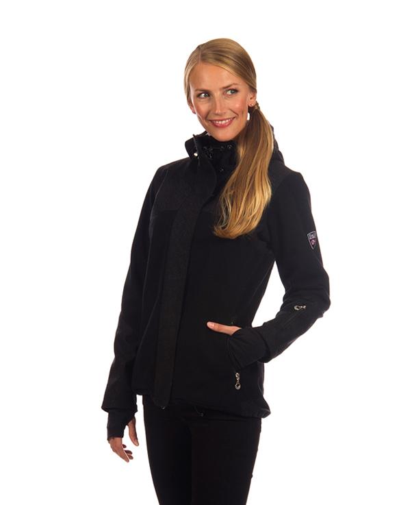 Stryn Feminine Knitshell Jacket