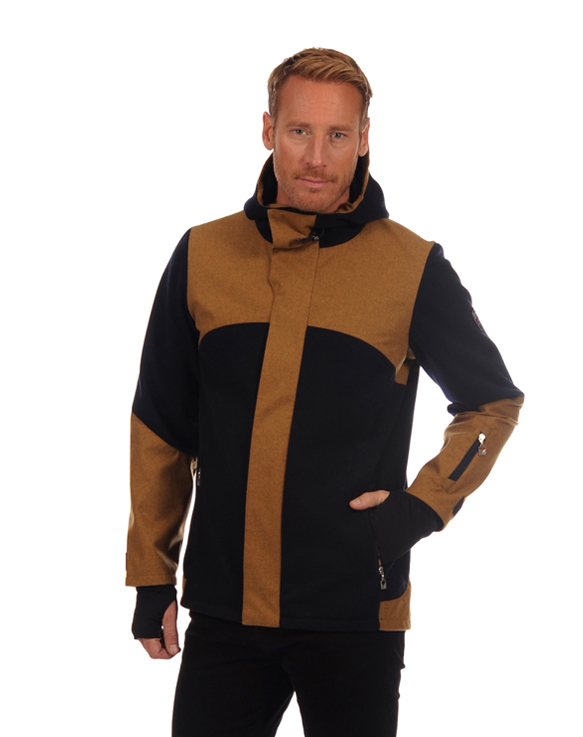 Stryn Masculine Knitshell Jacket