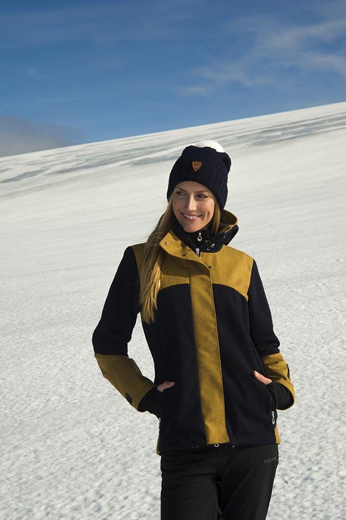 Stryn Feminine Knitshell Jacket (1)