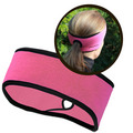 Goodbye Girl Ponytail Headband pink / black