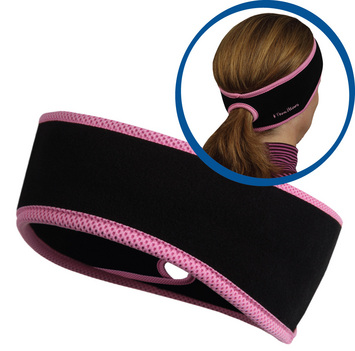Goodbye Girl Ponytail Headband black/ fast pink picture