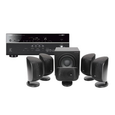 Yamaha RX-V675 AV Receiver<br>B&W MT-50 AV Speaker Package