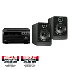 Denon D-M39DAB CD/DAB System<br>Q Acoustics 2020i Speakers
