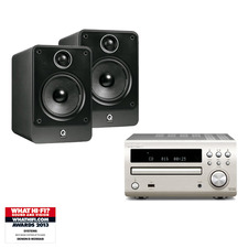 Denon D-M39DAB CD/DAB System<br>Q Acoustics 2010i Speakers