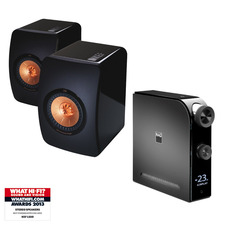 NAD D 7050 Direct Digital Network Amplfier / DAC<br>KEF LS50 Speakers