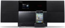 Pioneer X-SMC5<br>Wireless Speaker System With Dock / CD / DVD