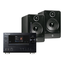 Pioneer XC-HM81 CD / Network System<br>Q Acoustics 2010i Speakers