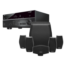 Yamaha RX-V675 AV Receiver<br>Monitor Audio MASS 5.1 Speaker Pack