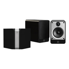 Bluesound POWERNODE Hi-Res Wireless Music Streamer / Amplifier<br>Q Acoustics Concept 20 Speakers