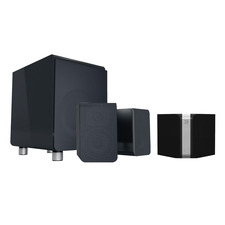Bluesound POWERNODE Hi-Res Wireless Music Streamer / Amplifier<br>Bluesound Duo 2.1 Speaker System