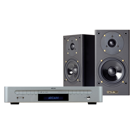 Arcam Solo Neo / PMC DB1 Gold <br>CD/DAB/Network System + Speakers picture