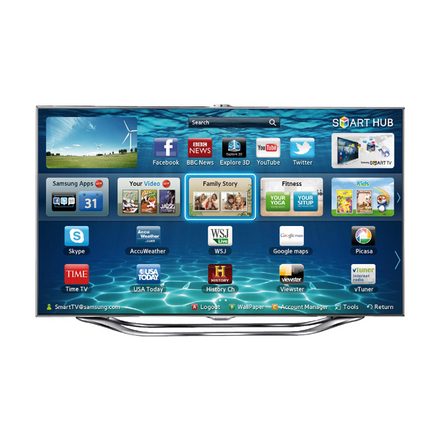 Samsung UE55ES8000<br>55inch 3D LED TV picture