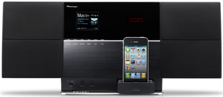 Pioneer X-SMC5<br>Wireless Speaker System With Dock / CD / DVD picture